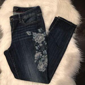 Floral skinny torrid jeans